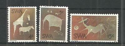 S.w.a 1974 Rock Engraving Sg,264-266 Un/mm Nh Lot 1138A