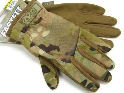MECHANIX WEAR Size Small S Multicam FASTFIT Tactical Work Gloves New! MFF-78-008