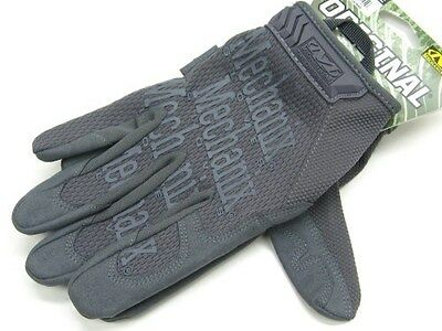 MECHANIX WEAR Size Large Wolf Gray THE ORIGINAL Tactical Work Gloves! MG-88-010