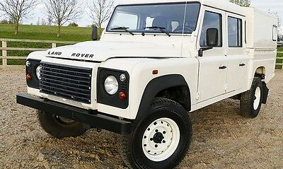 2008 Land Rover Defender 130 HiCap Doublecab LHD, Air Con, Low Milage.