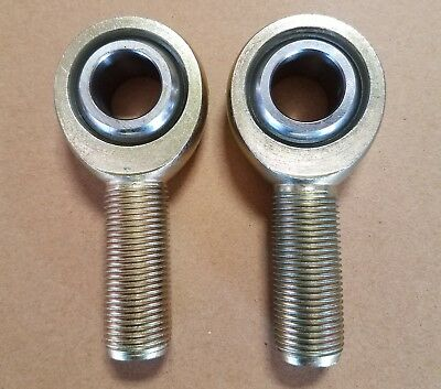 """Heavy Duty Male Rod End 3/4""""-16 Right Hand Thread  / Lot Of 2 / Free Shipping !!"""