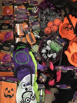 Job Lot Of 140 + Halloween Party Shop Items Halloween FREE NEXT DAY POSTAGE