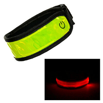 Flashing Led Safety Arm Band Light Up for Cycling Jogging Running Hiking Sport