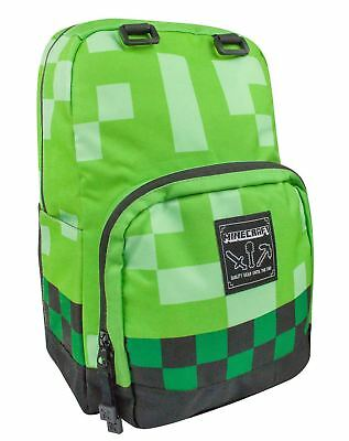 Minecraft Creeper Backpack Large