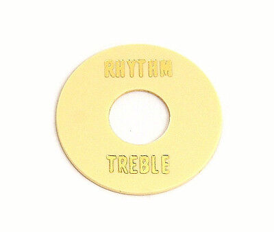 New Cream Rhythm/Treble Toggle Switch Ring For Gibson Les Paul Guitars