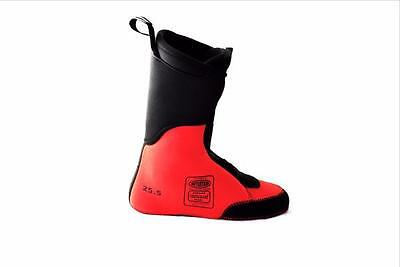 Intuition Boot Liners (Pr.) Rosso Descente - Snow Ski, Snowboard Backcountry A/T