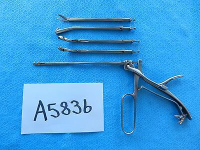 Jarit Surgical ENT Goldman Morgenstein Sphenoid Antrum Interchangeable Punch Set