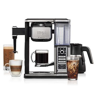 Ninja Coffee Bar Single-Serve and Carafe System NEW! Machine Brewer Glass Carafe
