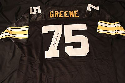Autographed Joe Greene Pittsburgh Steelers Signed Black jersey