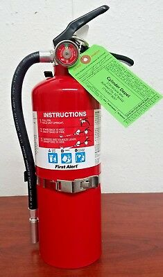 5lb Fire Extinguisher ABC Dry Chemical Rechargeable First Alert 3-A:40-B:C - New