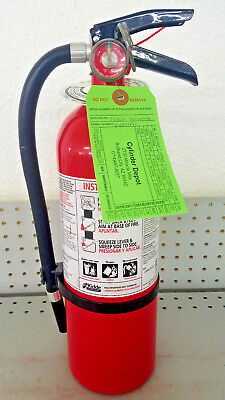 5lb Fire Extinguisher ABC Dry Chemical - Rechargeable - Kidde -