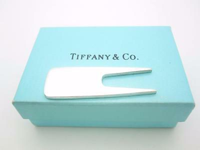 Tiffany & Co. Sterling Silver Golf Divot Repair Tool With Box