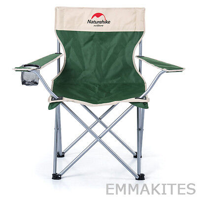 Portable Compact Camping Chair Heavy-duty Steel Frame For Fishing Beach Hiking