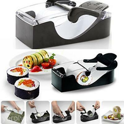 New Kitchen Magic Roll DIY Sushi Roller Cutter Maker Home Care Machine Gadgets