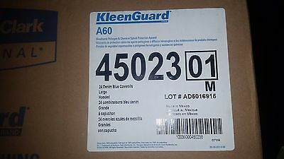Kimberly-Clark Kleenguard A60 Blue LARGE Disposable Chemical-Resistant Coverall