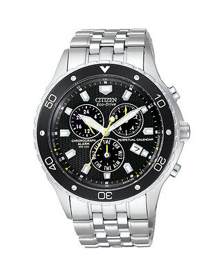 NEW Citizen Mens Stainless Steel Eco-Drive Perpetual Calendar Watch - BL5290-59E
