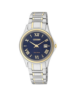 NEW Citizen Ladies Two Tone Stainless Steel Eco-Drive Watch - GA1039-53L