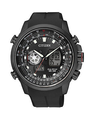 NEW Citizen Mens Stainless Steel Eco-Drive Promaster Watch - JZ1065-05E