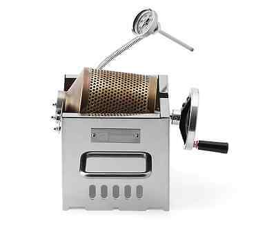 KALDI Mini Home Coffee Roaster Direct Fire Manual Bean Roasting 200g