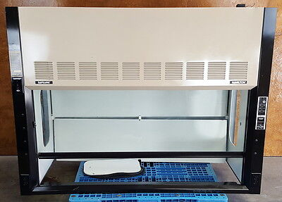 Hamilton Safeaire Laboratory Fume Hood * Alnor Airgard Flow Monitor * 5' Long