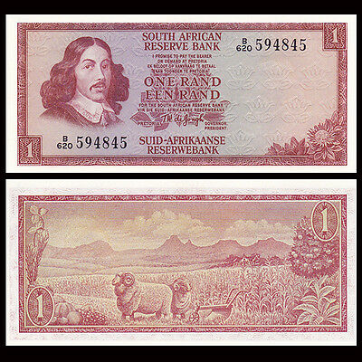 South Africa 1 Rand, ND(1975), P-115b, UNC