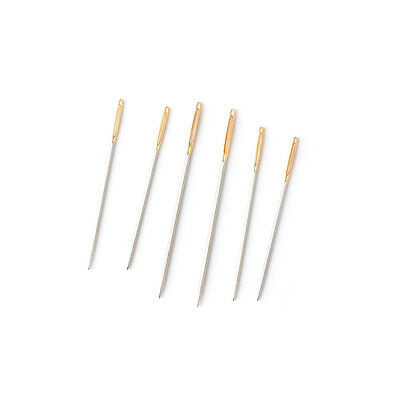 6 Large Eye Blunt Needles Wool Thick Knitter Yarn Hand Sewing Darning Crafts
