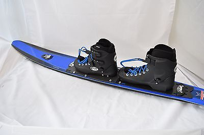 HO Syndicate CX Slalom Water Ski and Hardshell Bindings Package