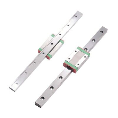 1×linear slide MGN7mm/9mm/12mm/15mm linear rails guide with mini Carriage Block
