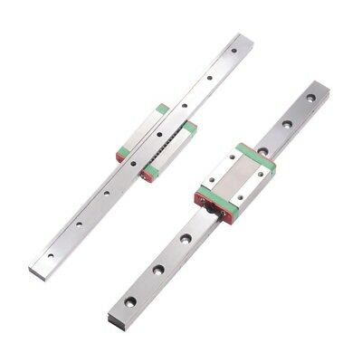 linear slide MGN12 7mm/9mm/12mm/15mm linear rails guide with mini Carriage Block