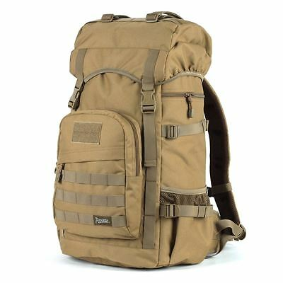 R50L ROGISI Rucksack Camping Bag Outdoor Water-Proof Backpack BN-017 Dust Color