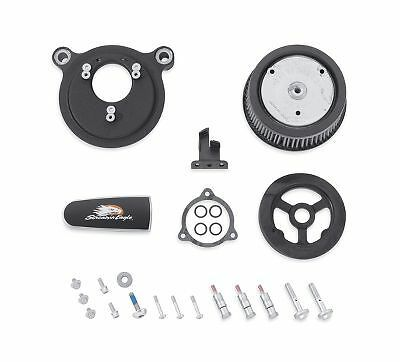 Genuine Screamin Eagle Stage 1 Air Cleaner Kit - Textured Black for Touring 2940