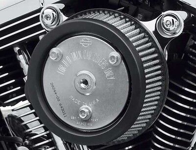 Genuine Screamin Eagle Stage 1 Air Cleaner Kit - Chrome for Touring 29400234