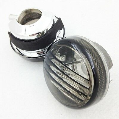 1 Pair  Turn Signal Lenses Smoke For Suzuki Boulevard C109R Intruder C1800R