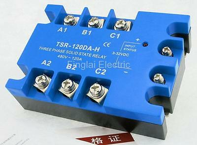 TSR-120DA-H three phase DC to AC 120A 480V solid state relay / SSR