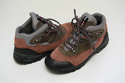 Womens Boys Raichle Gore-Tex Hiking Camping 100 % Suede Size Uk 3.5 Eur 36 Exc