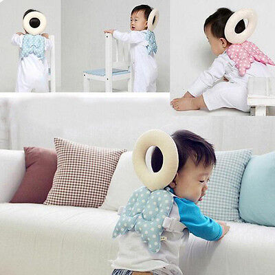 2016 Baby Head Pad Toddler Headrest Pillow Wings Design Nursing Drop Cushion Hot
