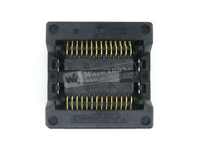Enplas OTS-28-1.27-01A IC Test & Burn-in Socket for SOP28 SO28 SOIC28 package