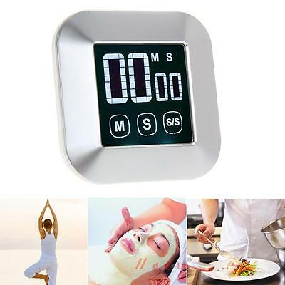 NEW Magnet LCD Digital Timer Touch Screen Backlight Kitchen Cooking Alarm Clock