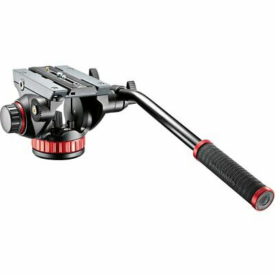 New Manfrotto MVH502AH Pro Video Head with Flat Base Bridging Technology