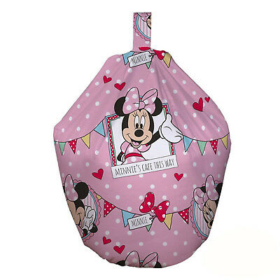 Minnie Mouse Cafe Bean Bag Official Minnie Mouse Bean Bag Chair Filled*