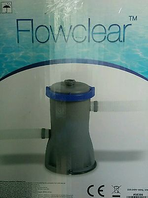 Bestway Flowclear Swimming Pool FILTER PUMPS 330, 530 & 800 Gallon per Hour