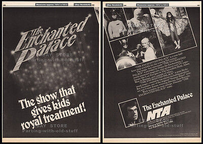 THE ENCHANTED PALACE__Original 1982 Trade Print AD / poster__BATMAN__Adam West