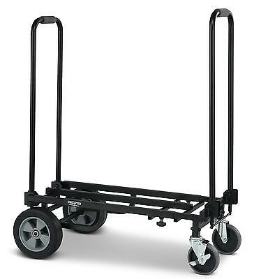 Valise A Roulettes Chariot D'transport Berline Trolley Durable 250Kg Maximale