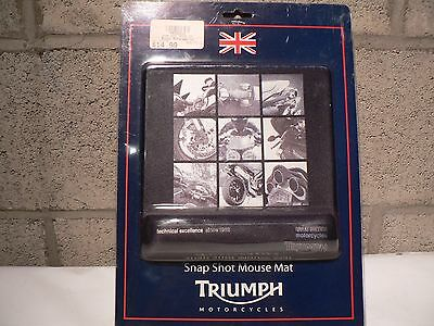 Triumph Snapshot Mouse Pad with hand rest #M9122010