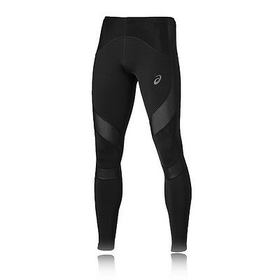 ASICS Leg Balance Mens Black Compression Running Fitted Tights Bottoms