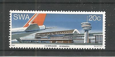 S.w.a 1977 Airport Windhoek Sg,305 Un/Mm Nh Lot 1149A