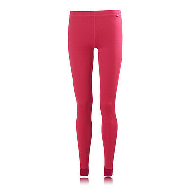 Helly Hansen Dry Womens Pink Long Sports Running Fitted Tights Pants Bottoms