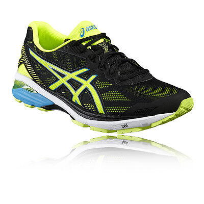 Asics GT 1000 5 Mens Green Black Support Running Sports Shoes Trainers Pumps