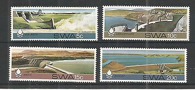 S.w.a 1980 Water Conservation Sg,369-372 Un/mm Nh Lot 1153A