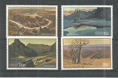 S.w.a 1981 Fish River Canyon Sg,373-376 Un/mm Nh Lot 1155A